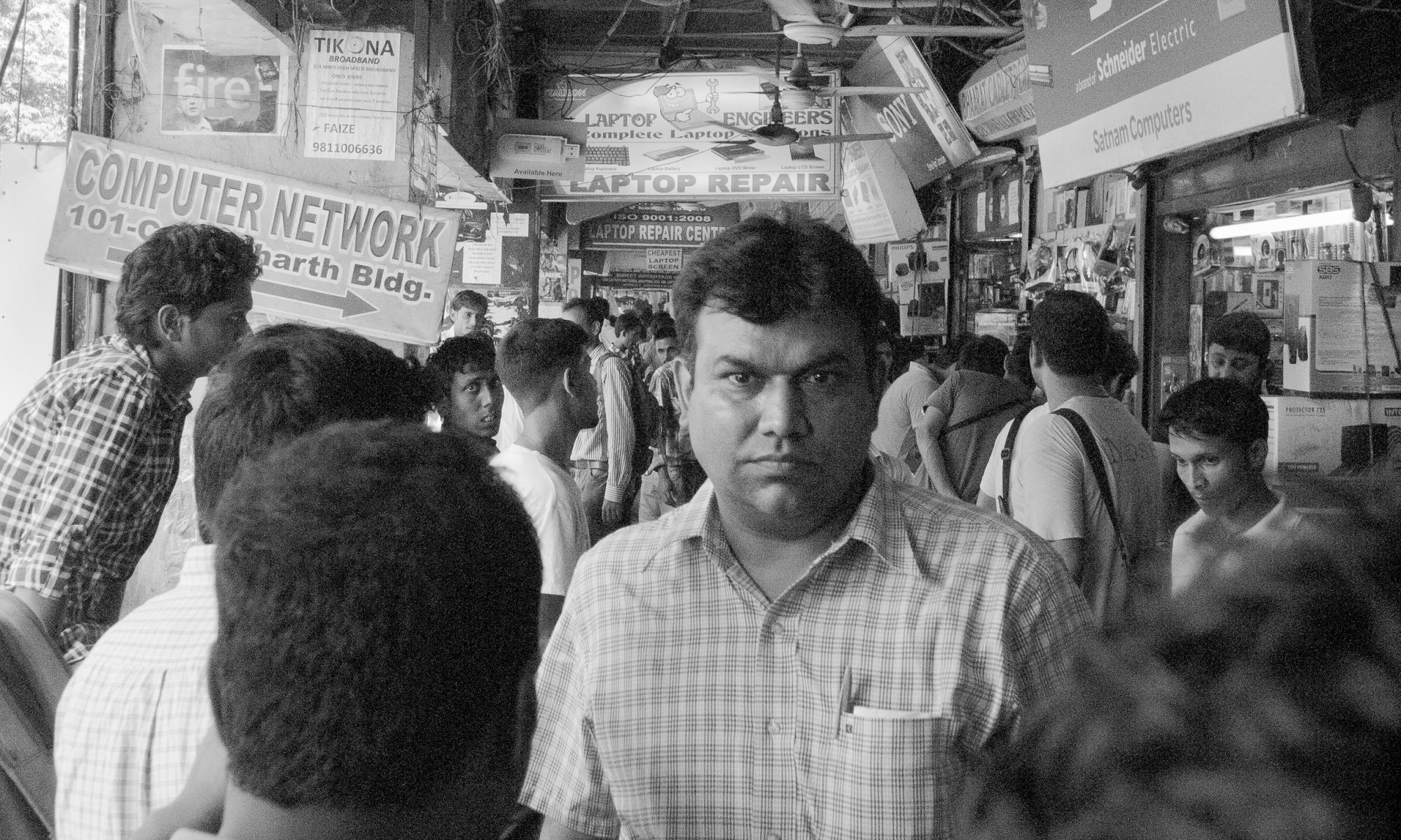 People I met in India